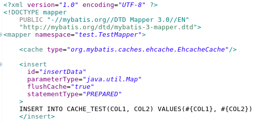 Using Ehcache instead of Mybatis internal cache – TK's blog